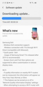 Samsung Galaxy S10 lineup now receiving One UI 2.5