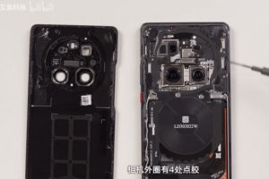 Huawei Mate 40 Pro disassembled, have a peek inside