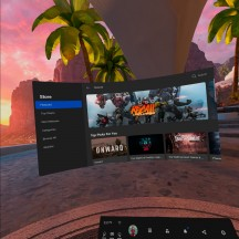 Oculus Mobile OS interface and optional hand-tracking controls - Oculus Quest 2 review