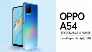 Oppo A54 Indian prices leak ahead of April 19 launch