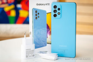 Samsung Galaxy A72 4G in for review