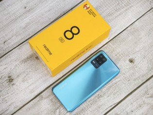 The Realme 8 5G arrives at the office - an affordable phone that loves 5G above all else