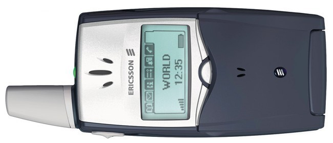 The Ericsson T39 was the first mobile phone with Bluetooth