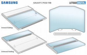 Samsung patents foldable with dual-hinges, dubbed 'Z Fold Tab' with S Pen support