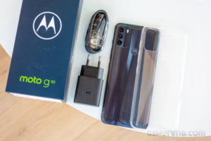 Moto G50 in for review