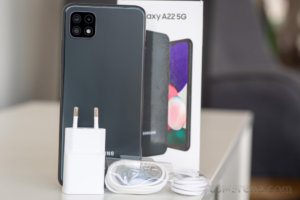 Samsung Galaxy A22 5G in for review