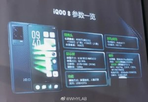 iQOO 8 and 8 Pro key specs surface ahead of announcement