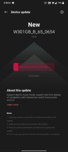 Latest OnePlus Watch update brings Spotify music mode, optimized sleep tracking and more