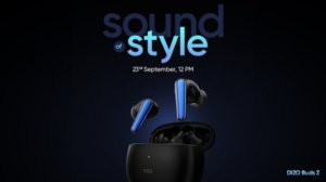 DIZO Buds Z TWS earphones are coming on September 23, design and features revealed